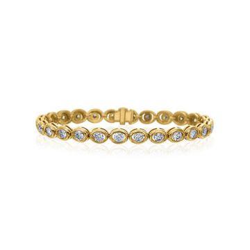 Gumuchian Oasis 18k Yellow Gold Illusion Diamond Bracelet