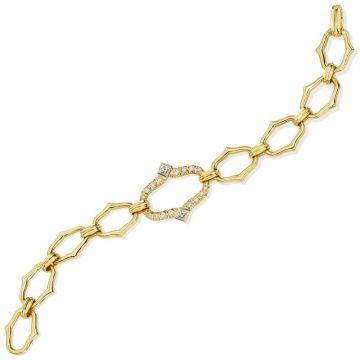 Gumuchian Secret Garden Motif 18k Gold Diamond Bracelet