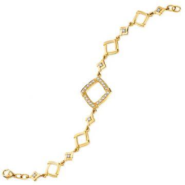 Gumuchian Kite 18k Yellow Gold Diamond Bracelet