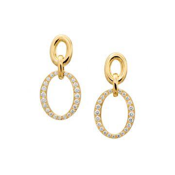 Gumuchian Carousel 18k Gold Double Link Earrings
