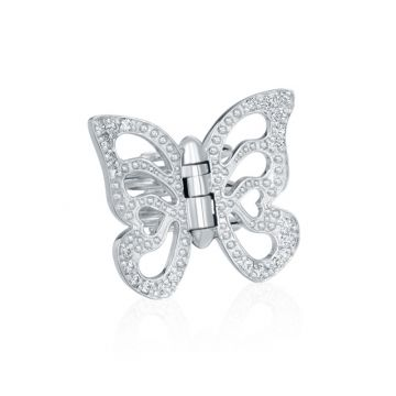 Gumuchian Butterfly 18k Yellow Gold Hair Jewel