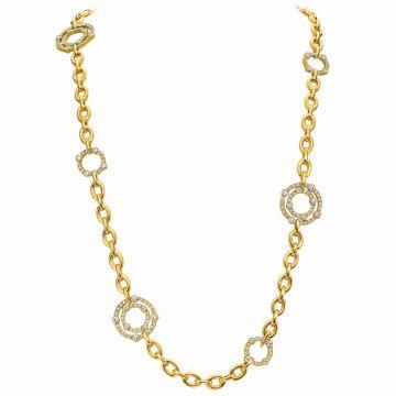 Gumuchian Carousel Convertible 18k Gold Necklace