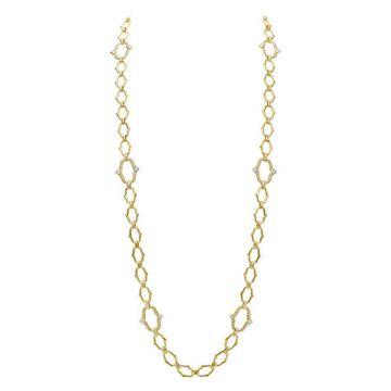 Gumuchian Secret Garden 18k Yellow Gold Diamond Convertible Necklace