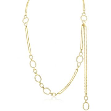 Gumuchian Carousel 18k Yellow Gold Diamond Necklace