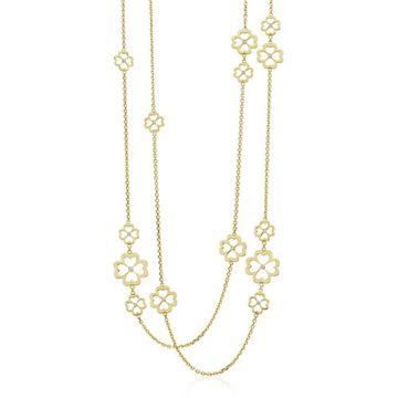Gumuchian G. Boutique 18k Yellow Gold Diamond Kelly Multi Length Necklace