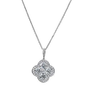 Gumuchian Fleur Platinum Diamond Necklace