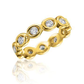 Gumuchian Oasis 18k Yellow Gold Illusion Diamond Ring