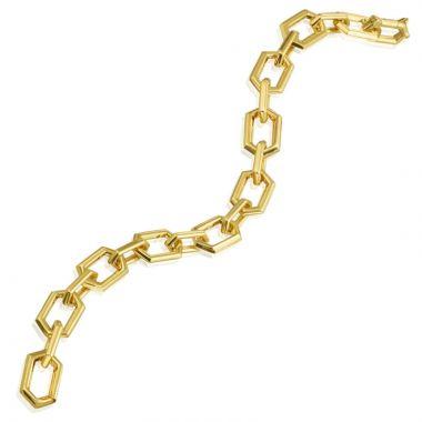 "Gumuchian Honeybee ""B"" 18k Yellow Gold Bracelet"
