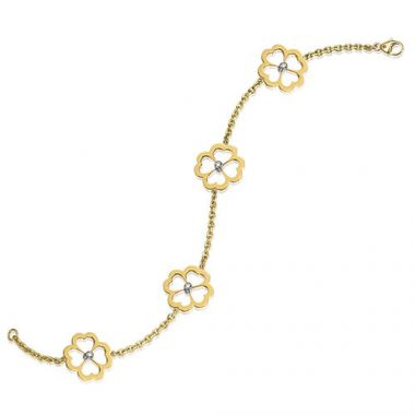 Gumuchian G. Boutique 18k Yellow Gold Diamond Kelly Bracelet