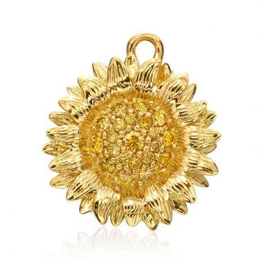 "Gumuchian Honeybee ""B"" 18k Yellow Gold Charm Bracelet"