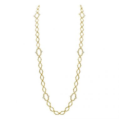 Gumuchian Secret Garden 18k Yellow Gold Diamond Convertible Necklace