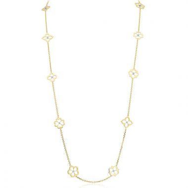 Gumuchian G. Boutique Ten Motif 18k Yellow Gold Diamond Necklace