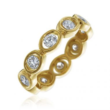 Gumuchian Oasis 18k Yellow Gold Illusion Diamond Ring