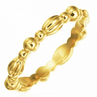 Gumuchian Nutmeg 18k Gold Stackable Band