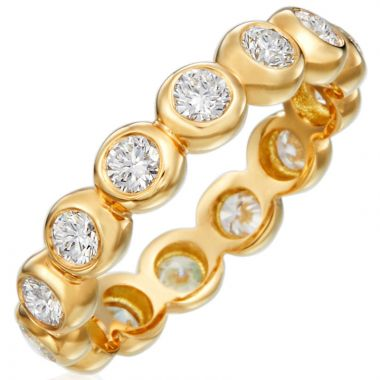 Gumuchian Moonlight 18k Gold Diamond Band Ring